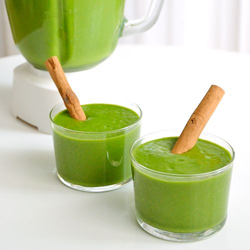Green smoothie con aloe vera