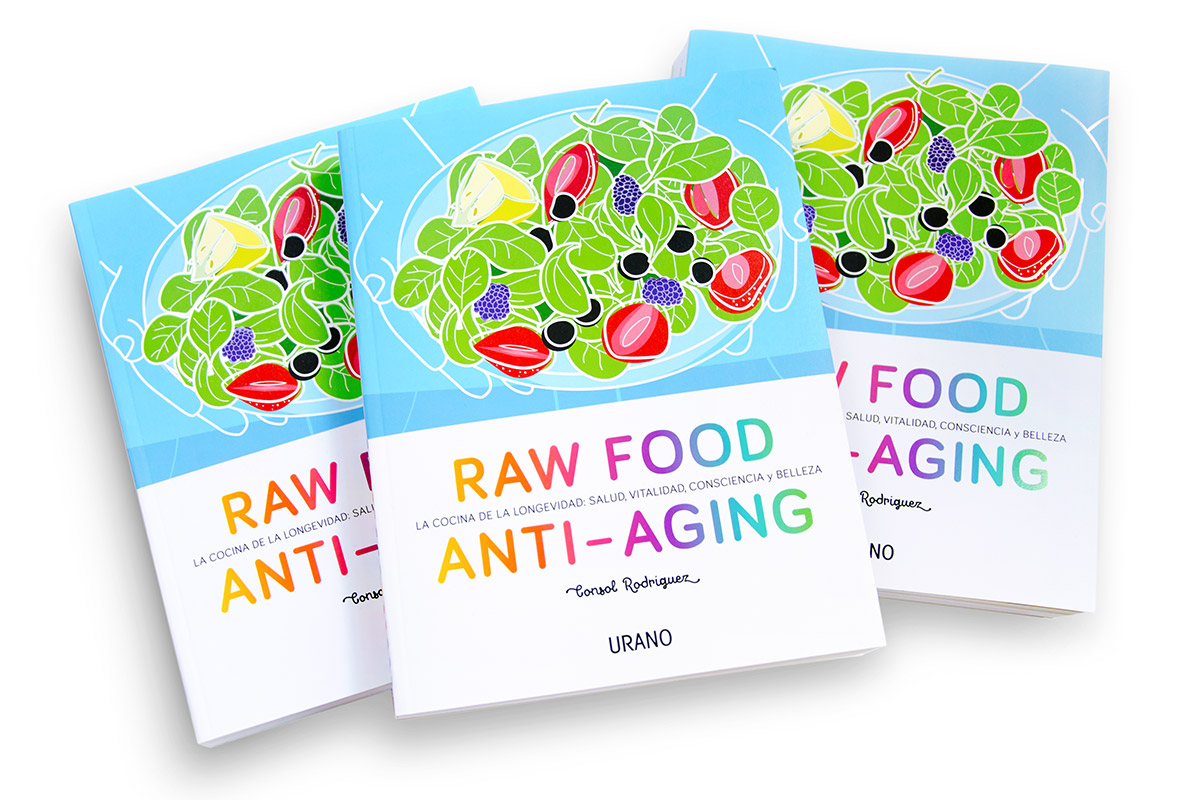 Mi libro, Raw Food Anti-aging